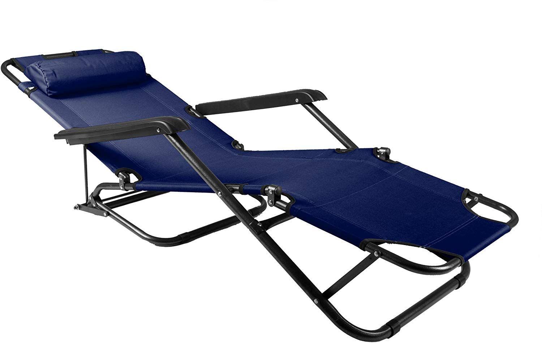 Amazon De Nexos Klappbare Sonnenliege Relaxliege Liegestuhl