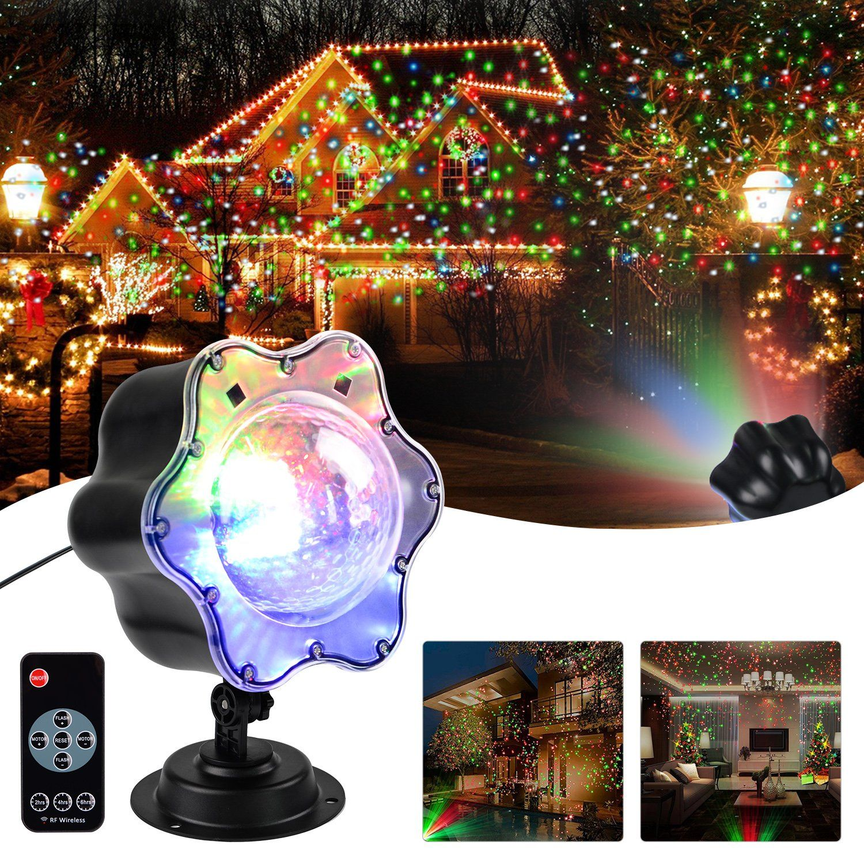 Shower Star Decorative Lighting Projectors, Indoor/Outdoor Landscape ...