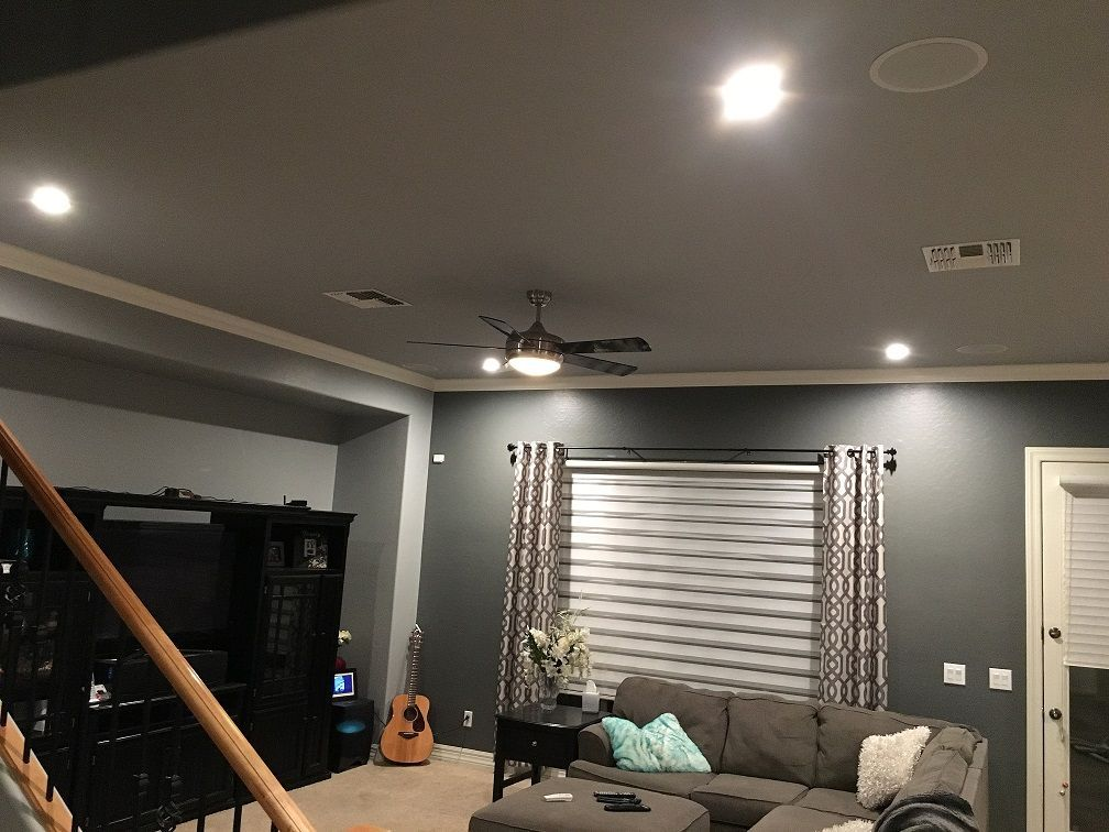 Az Recessed Lighting Living Room Installation Of Led Lights Ceiling Fan And In 2021 Recessed Lighting Living Room Living Room Lighting Recessed Lighting In Living Room