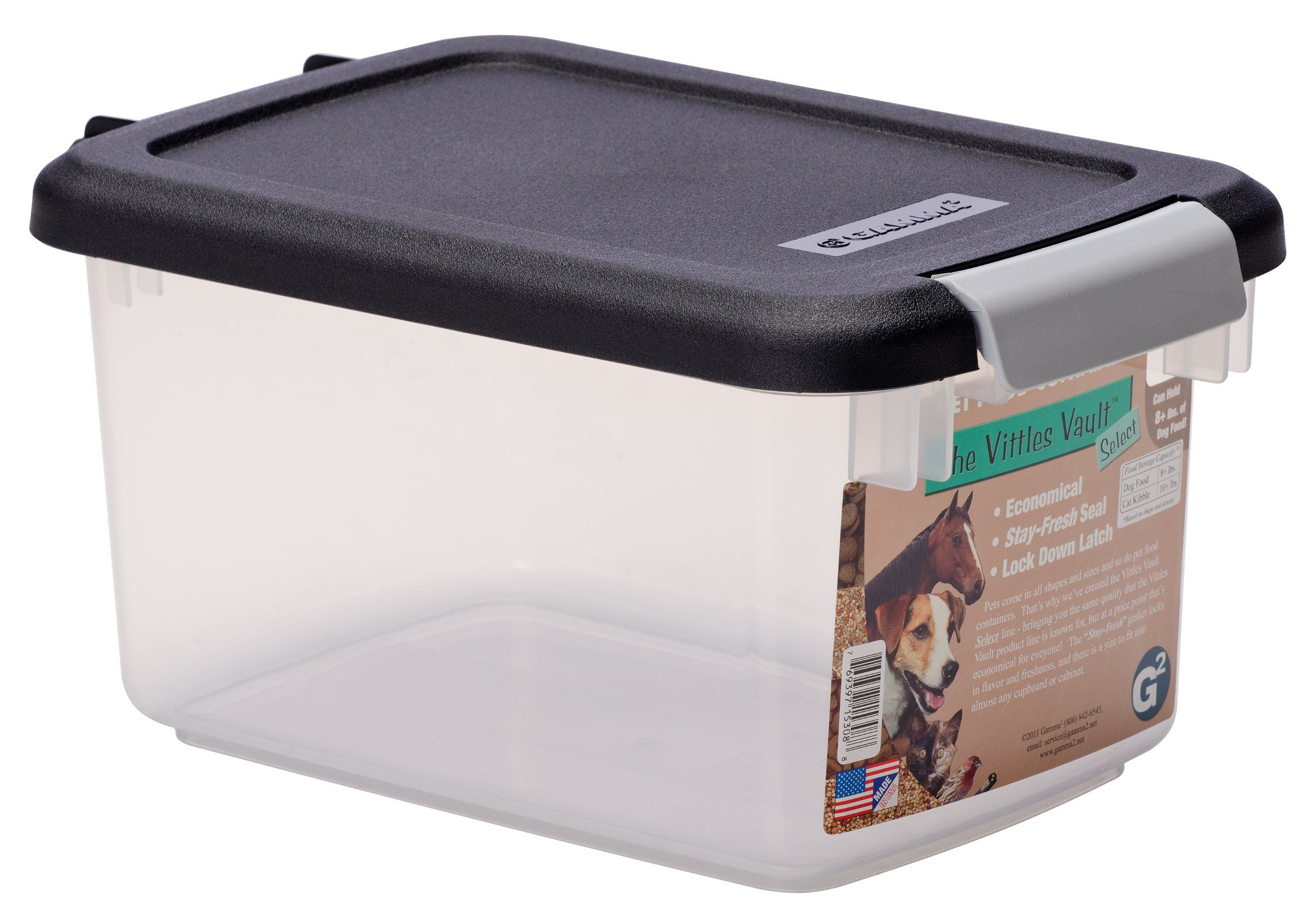 Gamma2 vittles vault 8 lb pet food container check out
