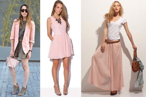 Que Color Es El Los Colores De Moda Rosa Pastel Ropa Rosa In