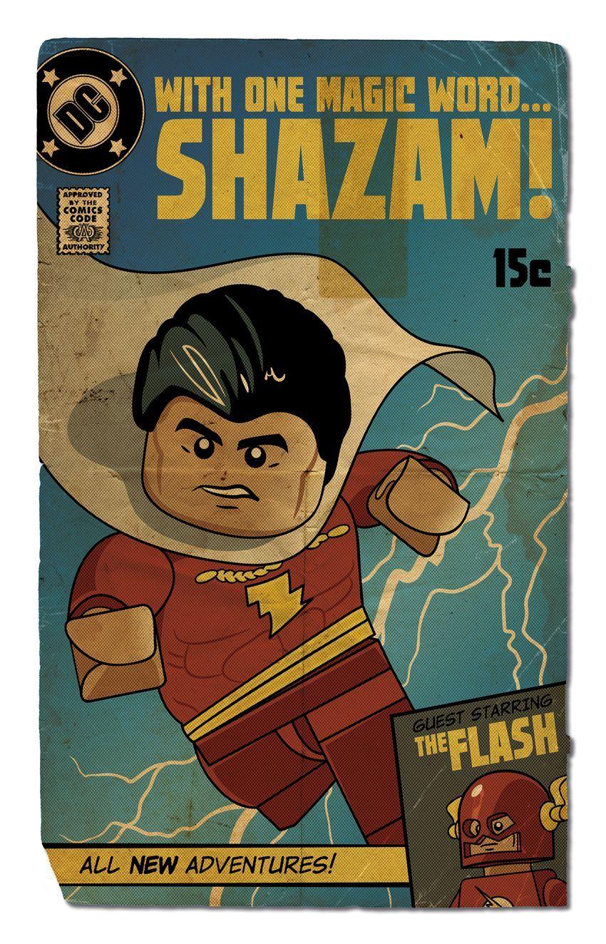 SDCC 2015 LEGO SUPER HEROES BATMAN SUPER MAN COMIC BOOK WITH POSTER EXCLUSIVE