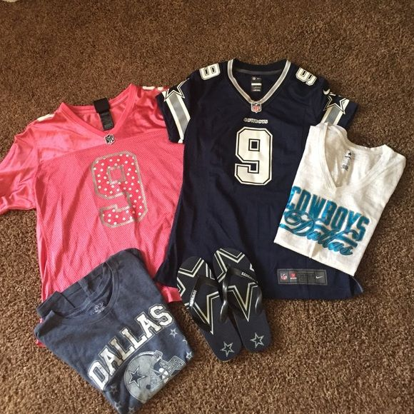 d5c4f867 ... for great for any dallas cowboys fan. includes authentic womens cowboys  jersey small where to buy dallas cowboys nfl womens palmer rhinestone t  shirt ...
