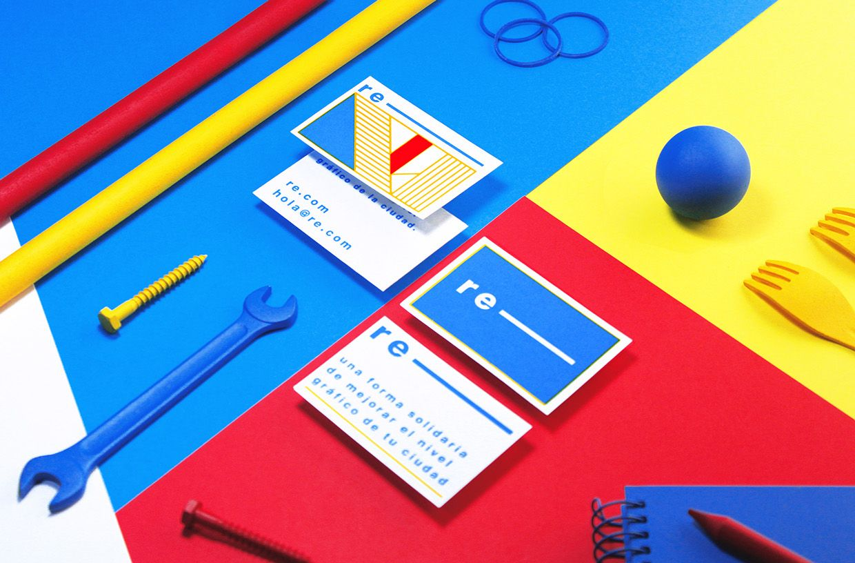 RE- VISUAL IDENTITY on Behance