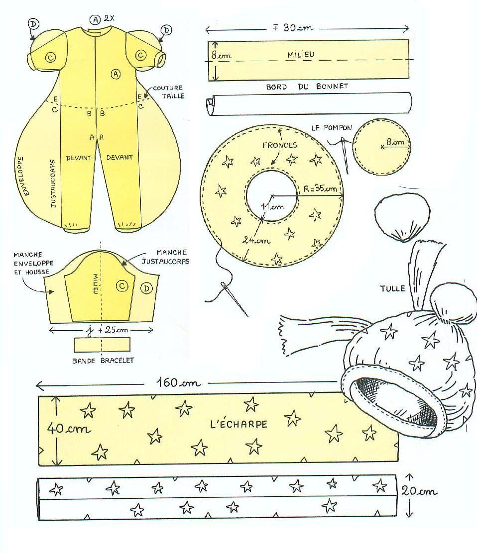 patron-muñeco-de-nieve2 | Disfraces con patrones | Pinterest ...