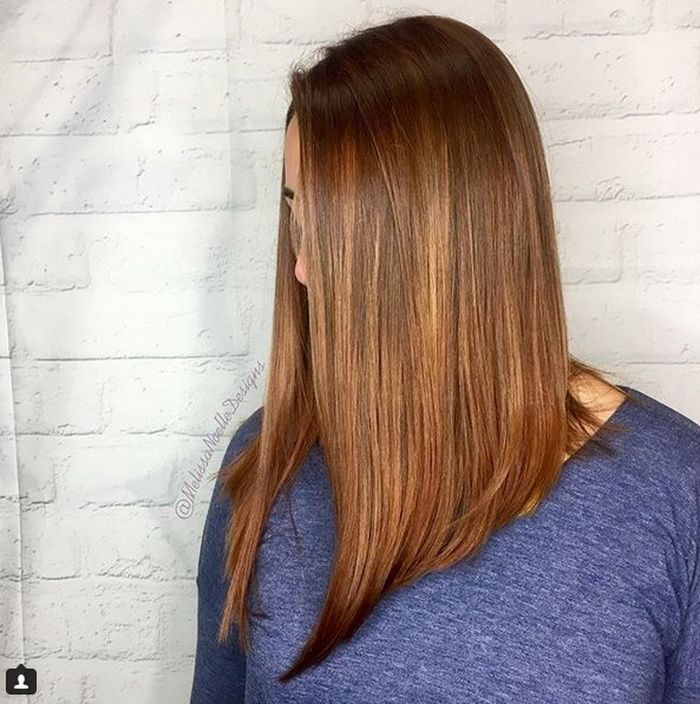 Sleek Inverted Long Bob Hairstyles 2018 2019 Beauty In 2019