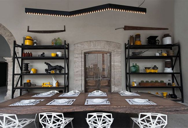 Modernes restaurant dekor dekorationsideen restaurant for Design hotel zollamt