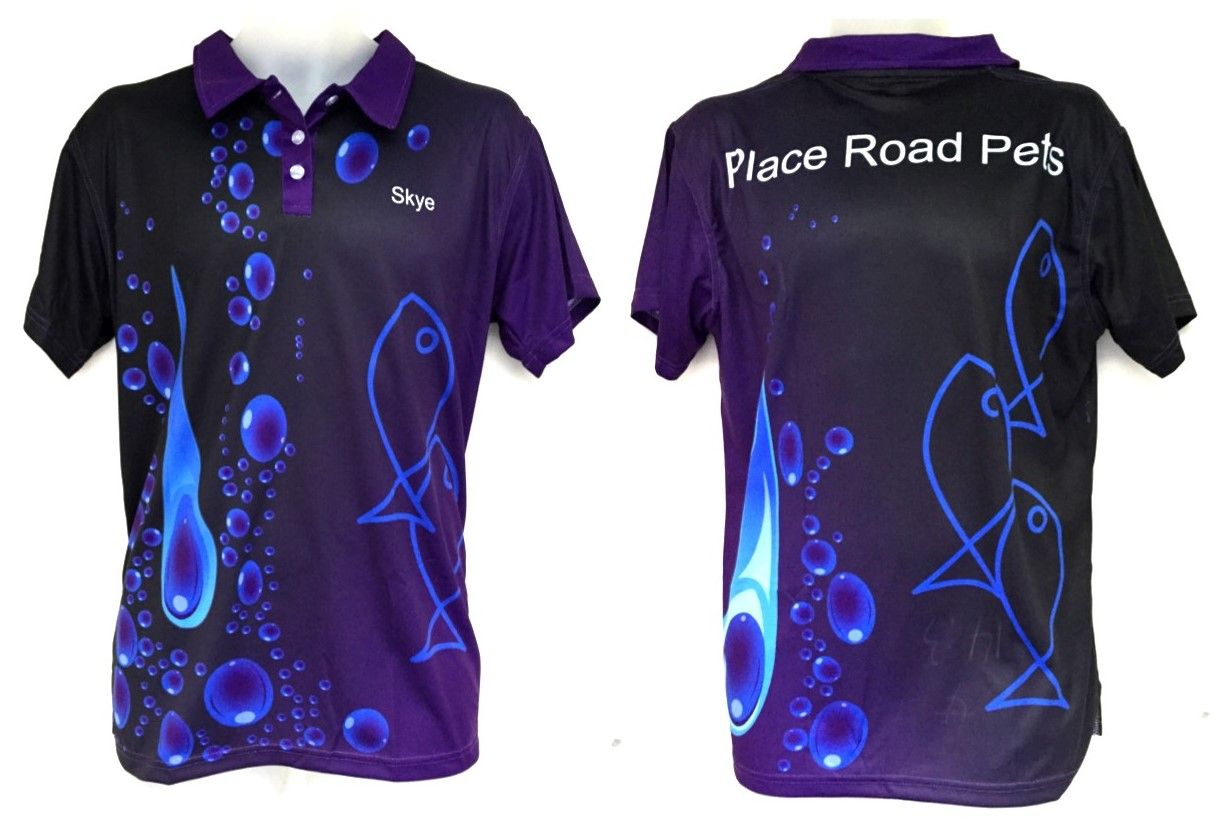 Check Out These Awesome Sublimated Polo Shirts Created For