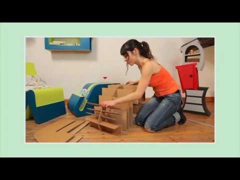 Meubles En Carton Chapitre N 29 Demo Cas Particulier Application Pour Une Table De Salon Youtube Meuble En Carton Mobilier De Salon Table De Salon