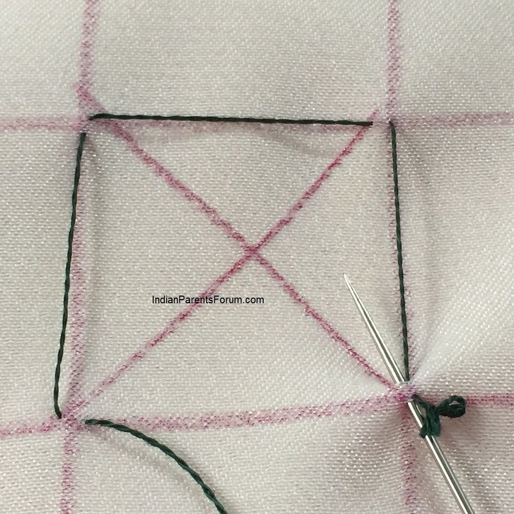 Canadian Smocking – Tutorial 10 (Squares And Hexagon