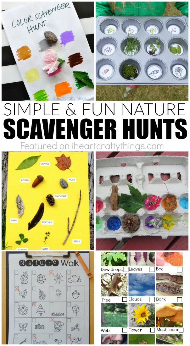 Spring Nature Scavenger Hunts for Kids | Classroom Themes