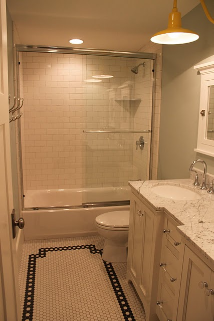 what you can do with a small bathroom