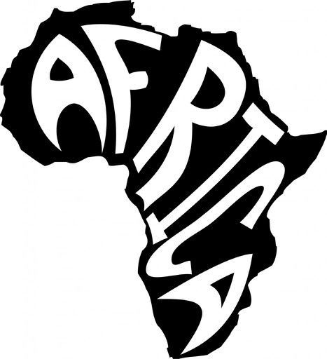 Africa #Map #design #outline #creativedesigns #continent #TIA