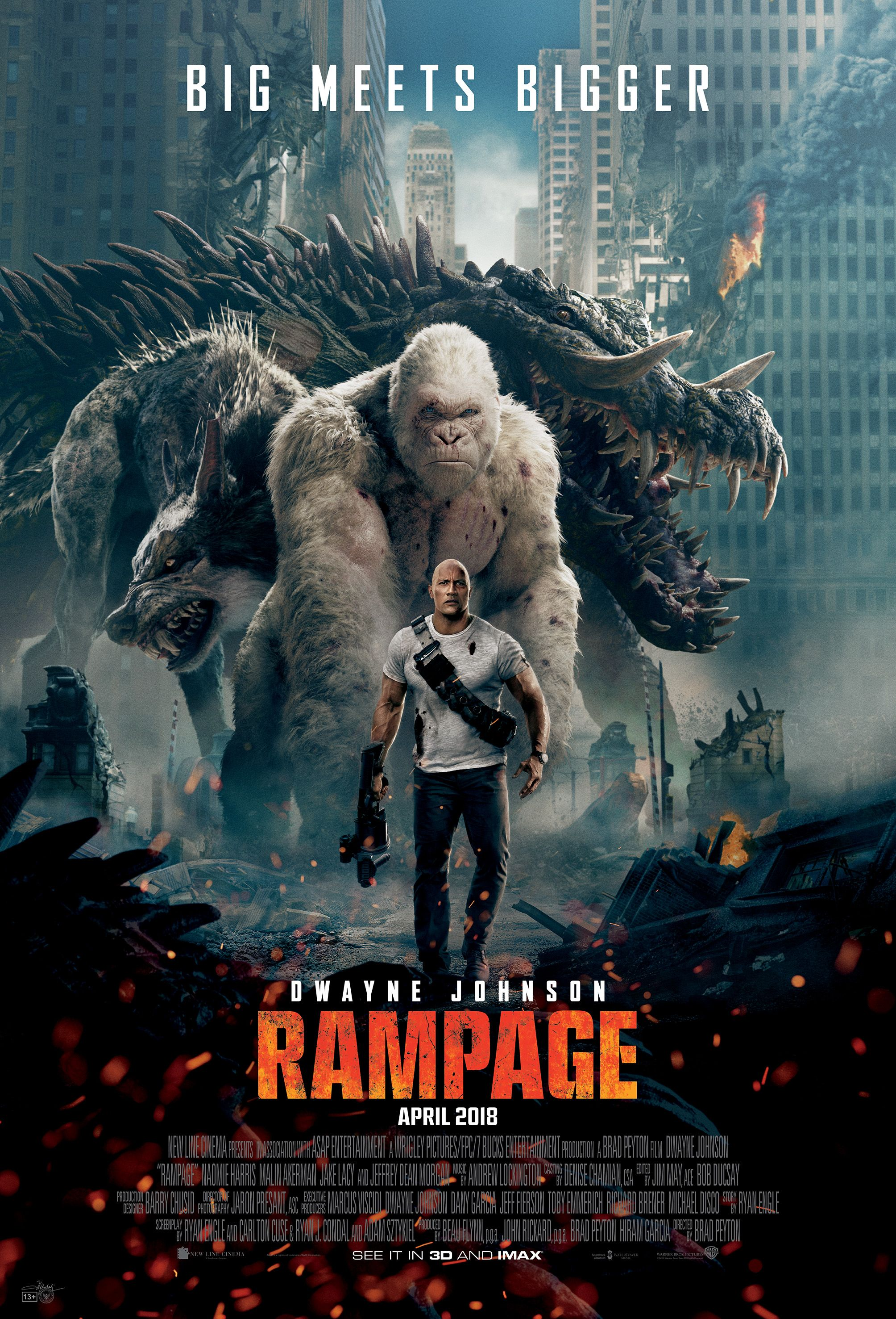 7 Bucks Entertainment Asap Entertainment Flynn Picture Company New Line Cinema Twisted Media Wrigley Picture Rampage Movie Film Rampage Full Movies Online Free
