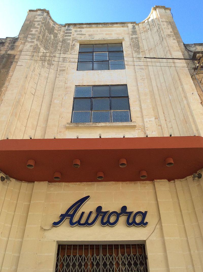 Aurora Parish Hall Triq Il Kbira Balzan Malta Church Of Our Lady Parish Cinema Theatre
