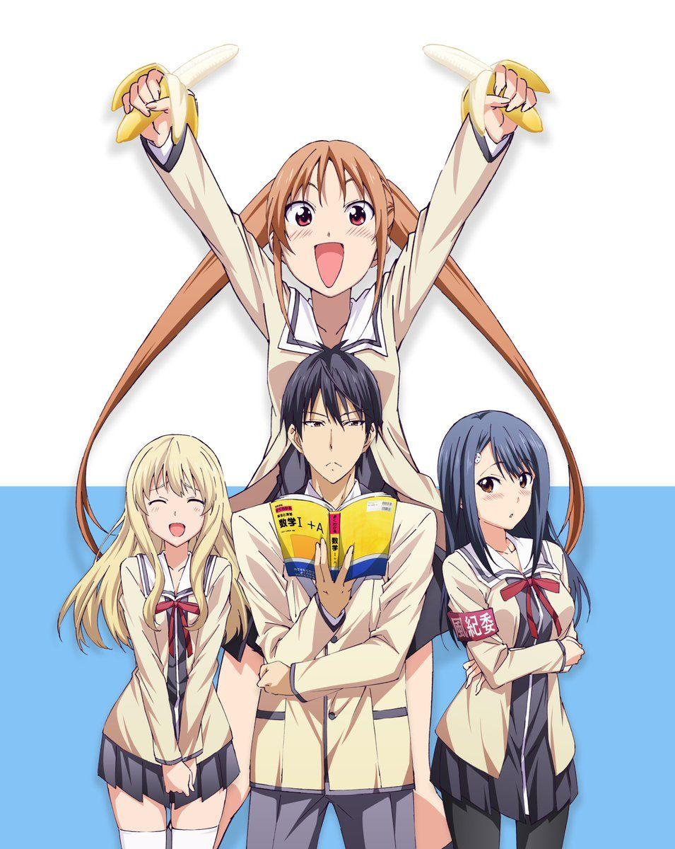 مشاهدة و تحميل Aho Girl الحلقة 12 و الأخيرة مترجم مباشر أون لاين تصنيف الأنمي رومنسي المدرسي الكوميديا قصة الأنمي القصة تدور Anime Animacao Anime Estetico
