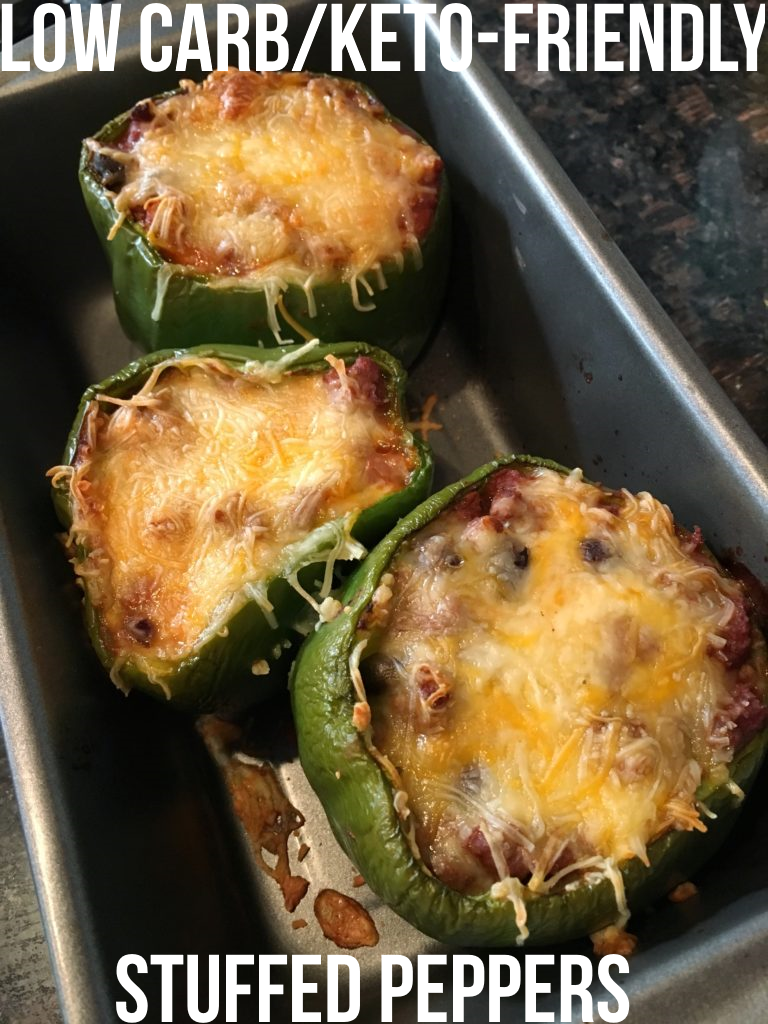 Macro-Friendly Stuffed Peppers images