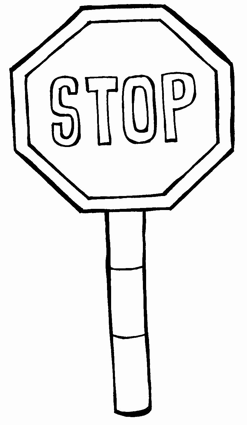 Stop Sign Coloring Page Inspirational Pics Stop Drawn Stop Signs Clipart Best In 2020 Coloring Pages Road Signs Coloring Pages Inspirational