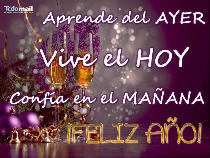 Feliz Año Nuevo Que El 2020 Te Traiga Salud Y Felicidad Tarjeta Fin De Año Felicitaciones De Año Nuevo Feliz Año Nuevo