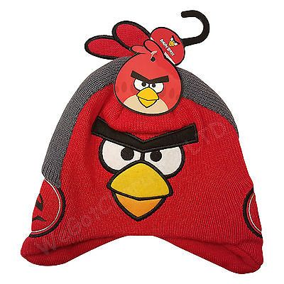 Official angry birds red  beanie hat  headphone  design winter hat 3 ... 59078e5007