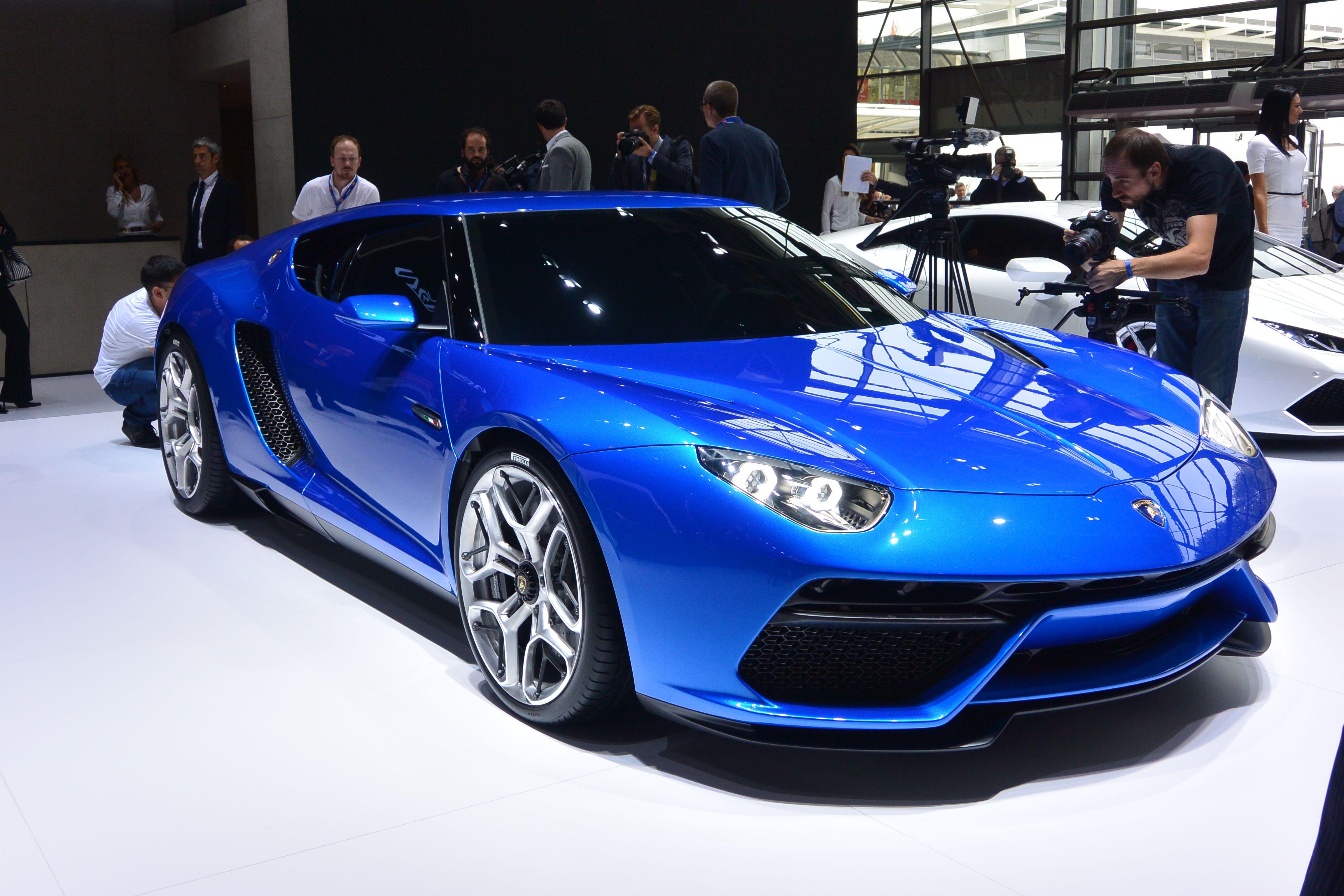 Lamborghini Asterion Plug in hybrid