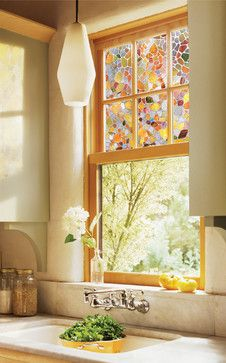 Decorative Window Film In Stained Gl Thomas Hicks Is A Visually Exciting New Concept Home Decorating It Creates The Look And Feel Of