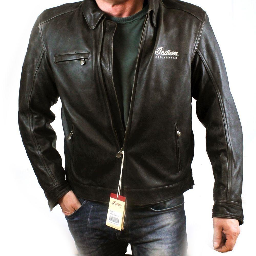 the latest aef35 456c3 Indian Motorcycles Classic Jacket 2 Lederjacke Bikerjacke ...