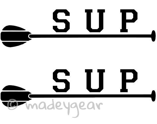 Car Window Vinyl Decal Sticker Sports Paddleboard SUP Paddle - Car window decal stickers sports