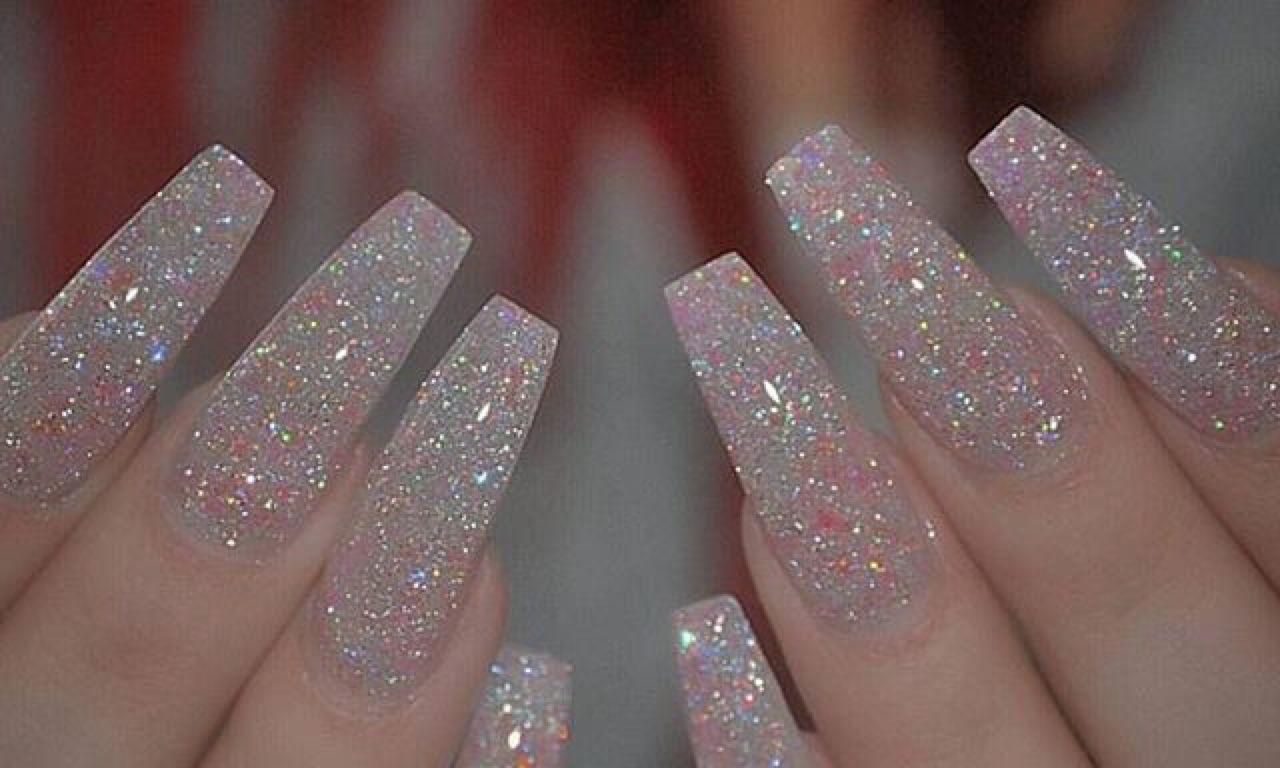 Glitter Coffin Nails Tumblr