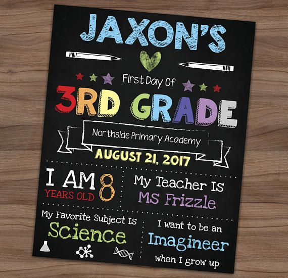 43+ My first day chalkboard sign ideas in 2021
