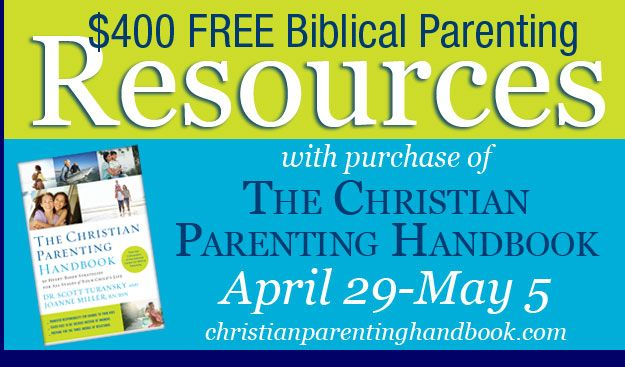 Get $400 worth of Parenting Resources When You Buy The Christian Parenting Handbook