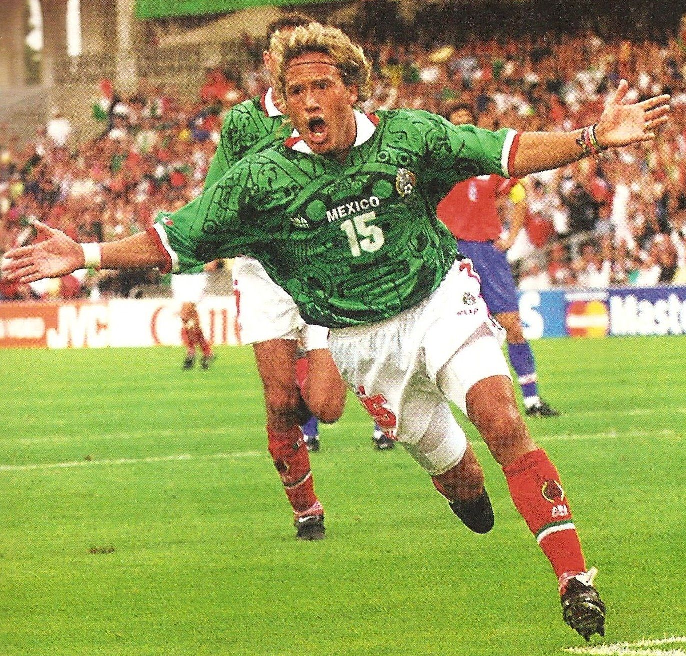 luis hern225ndez mexico world cup 1998 futbol pinterest