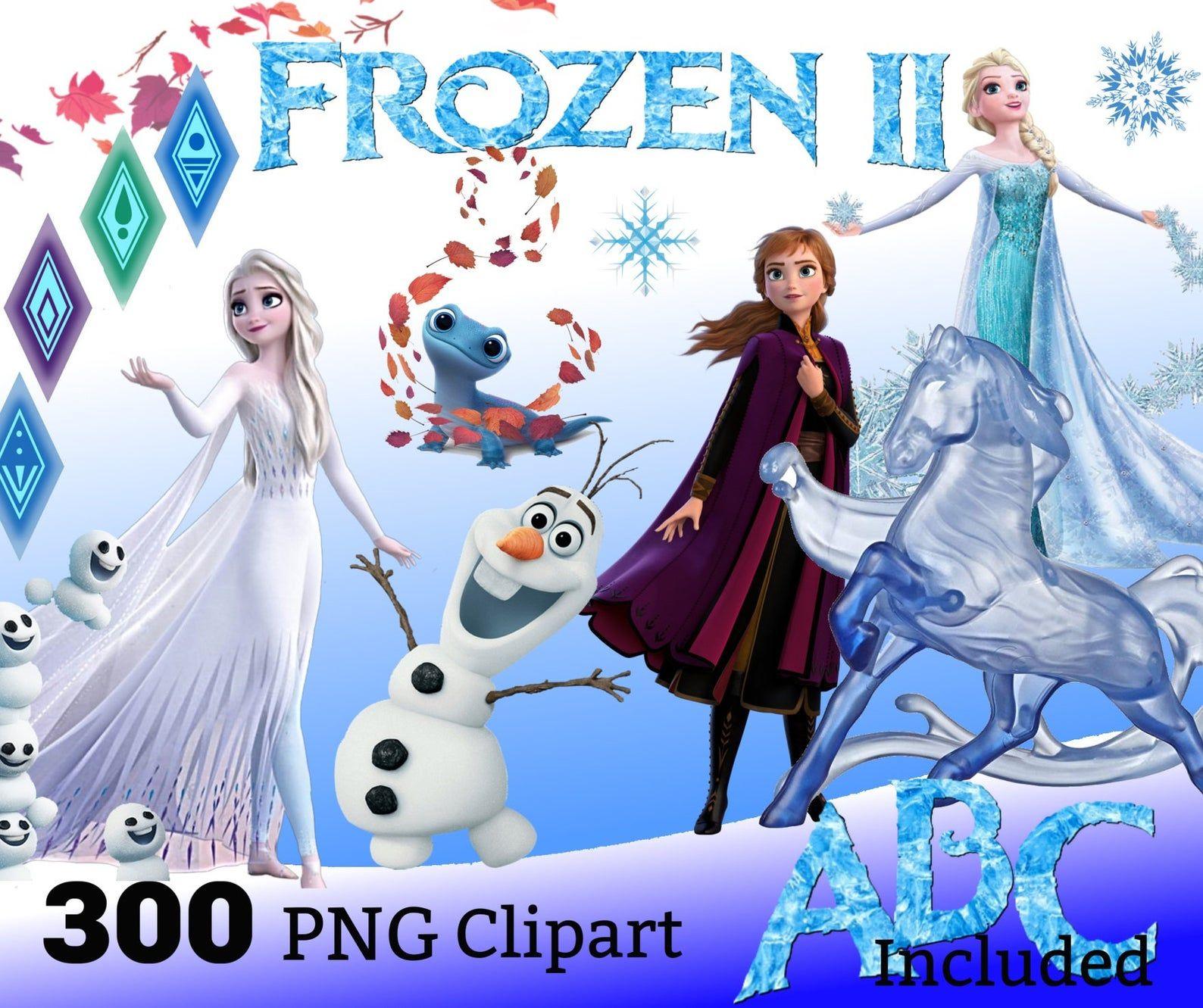 Elsa Frozen Characters Transparent Clipart Free Png , Free Transparent  Clipart - ClipartKey