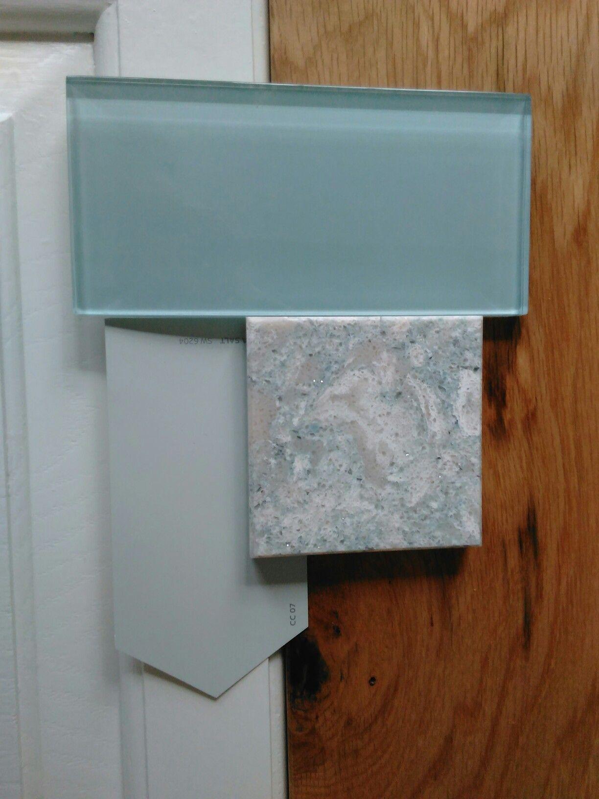 Kitchen design 2: Somerset white oak, Cambria Montgomery quartz ...