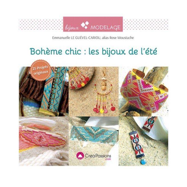 Bohème chic : les bijoux de l'été Préparez-vous un été bohème ! Mme LE GUEVEL-CARIOU Emmanuelle Découvrez dans ce livre 25 projets pour créer v...