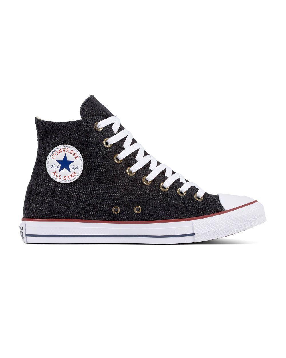 Converse Chuck Taylor Hi (blackwhitebrown) size 131415