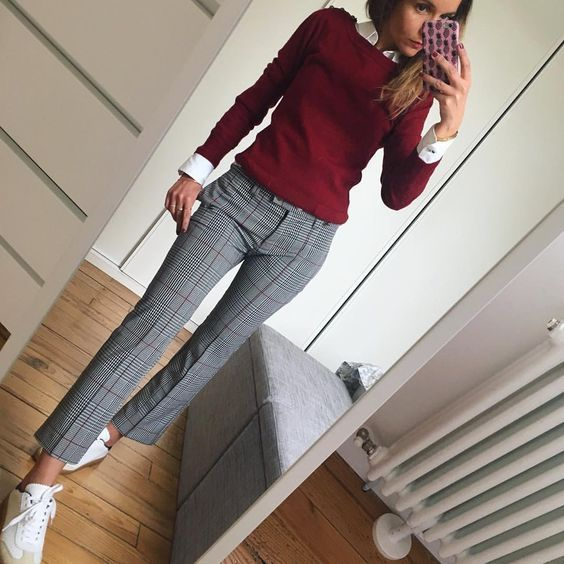 21 Cosy Office & Work Outfits Ideas for Women When It's Cold #womensworkoutfits ...