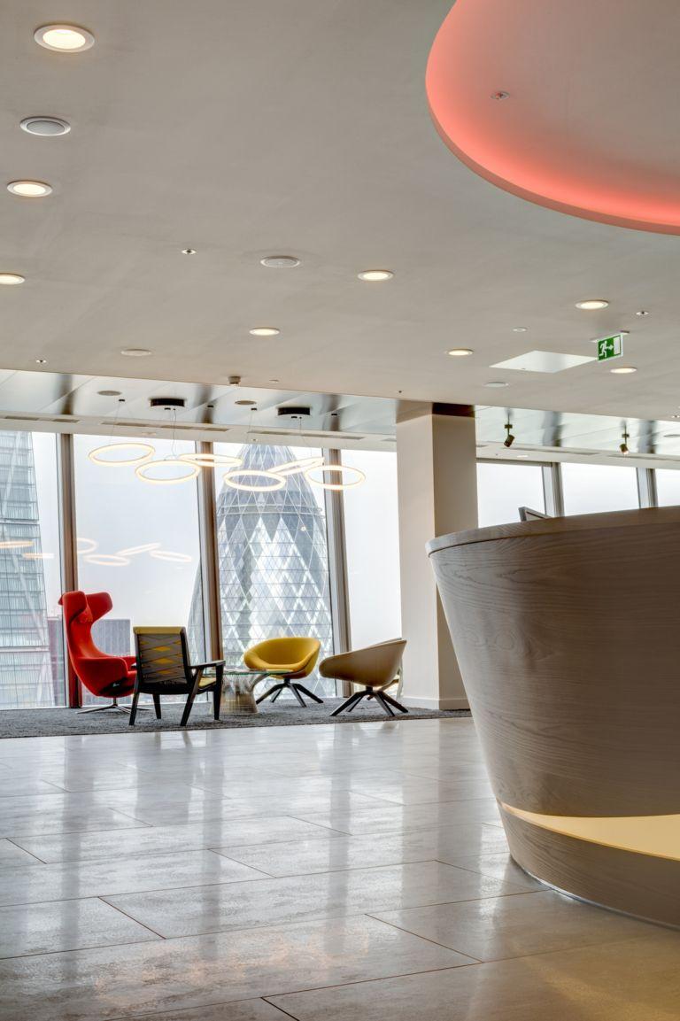 Office Tour: Lancashire Insurance Group - London Offices ...