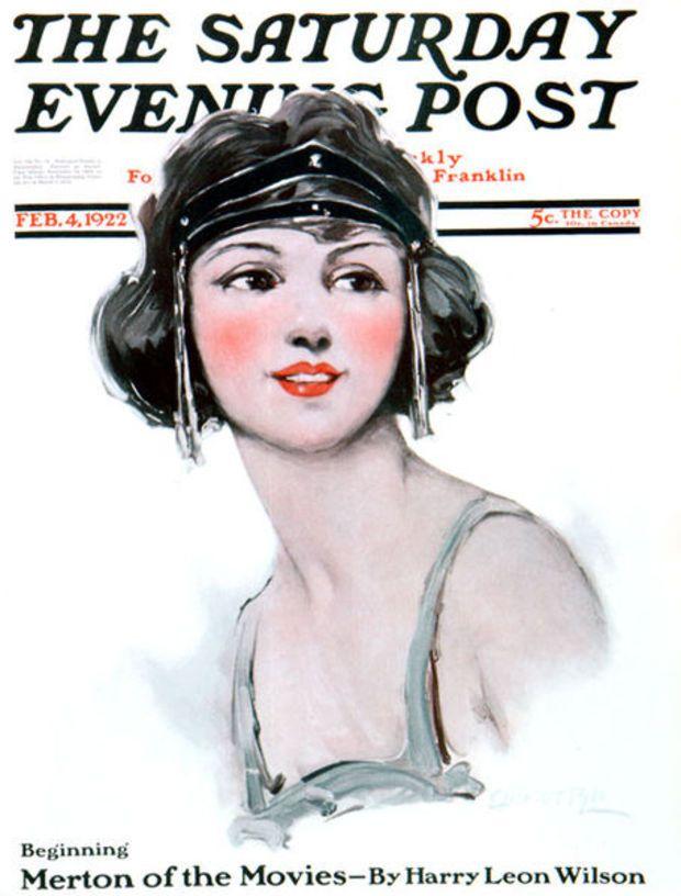 Saturday Evening Post Cover (source: Wikimedia)