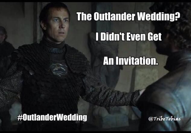 "#Outlander ""No Sir, you did not!"""