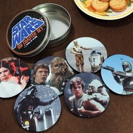Star Wars Coaster Set on the redditgifts Marketplace #redditgifts
