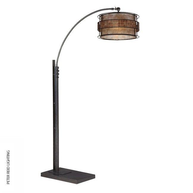 laguna floor arc lamp by the usau0027s quoizel lighting - Arc Lamps