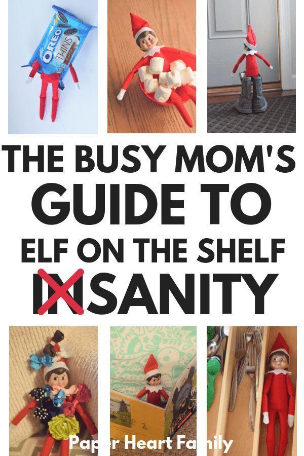 Elf On The Shelf Ideas: A Busy Mom's Guide To Killin' It This Christmas #elfontheshelfarrivalletter