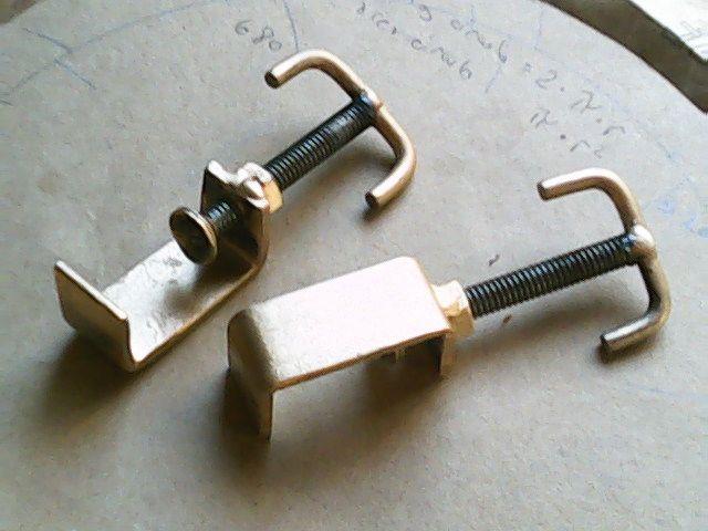 Prensa C A Partir De Un Resto De Perfil Herramientas Caseras Trabajo Con Metal Herramientas De Carpintería