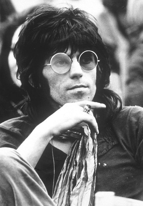 Keith Richards in his younger years.