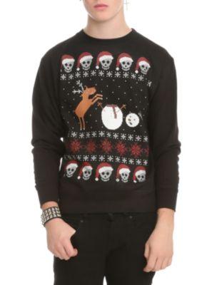 Ugly Christmas Sweatshirt Christmas List Holiday Sweater