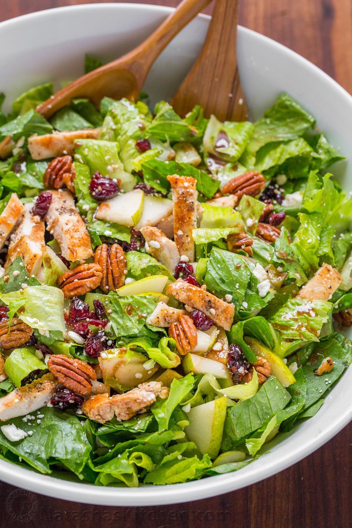 Autumn Salad Natasha S Kitchen I Will Substitute Mandarin