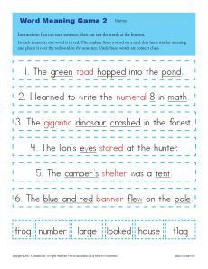 Spanish 1 - Context Clues Practice by Senorita's Spanish Class | TpT