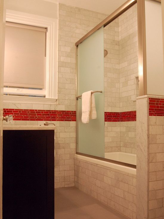 Decorative Accent Tiles For Bathroom Endearing Marble Tile Subway Tile Red Decorative Mosaic Wwwwestsidetile Decorating Design