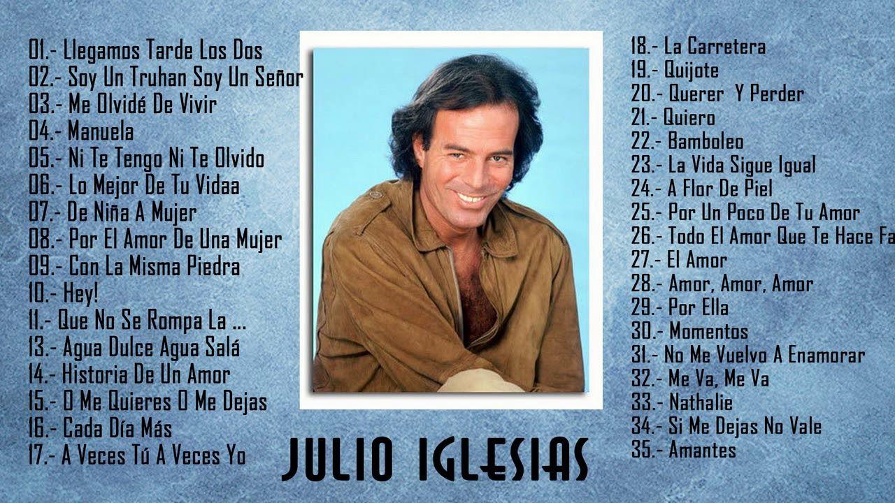 Julio Iglesias Lo Mejor De Lo Mejor Sus Grandes Exitos 35